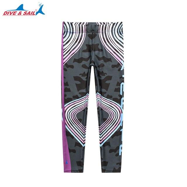 86221767a Dive & Sail Ladies Capris UPF 50+ Water Pants Multipurpose Swim Sport  Leggings Surfing Leggings Sun Protection Women's Printed