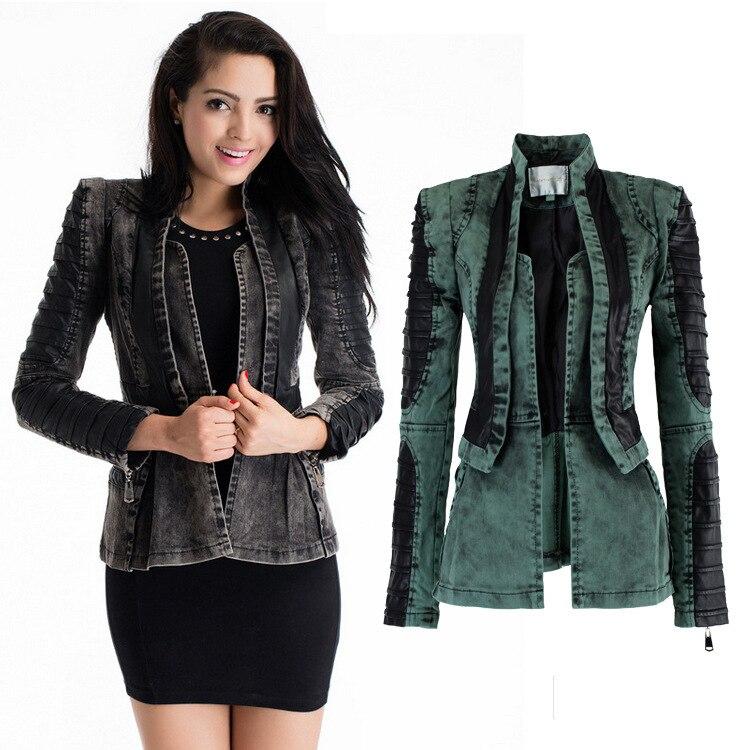 Buy womens black denim jacket – Modern fashion jacket photo blog