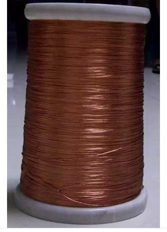 0.1x30 säikeet, 50 m / kpl, Litz-lanka, kierteinen emaloitu kuparilanka / punottu monisäikeinen lanka