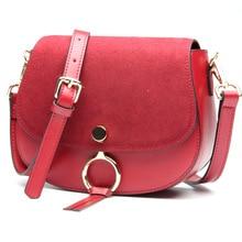 L6106 Fashion leather handbag star and saddle bags cowhide Leather Women Leather Shoulder Bag