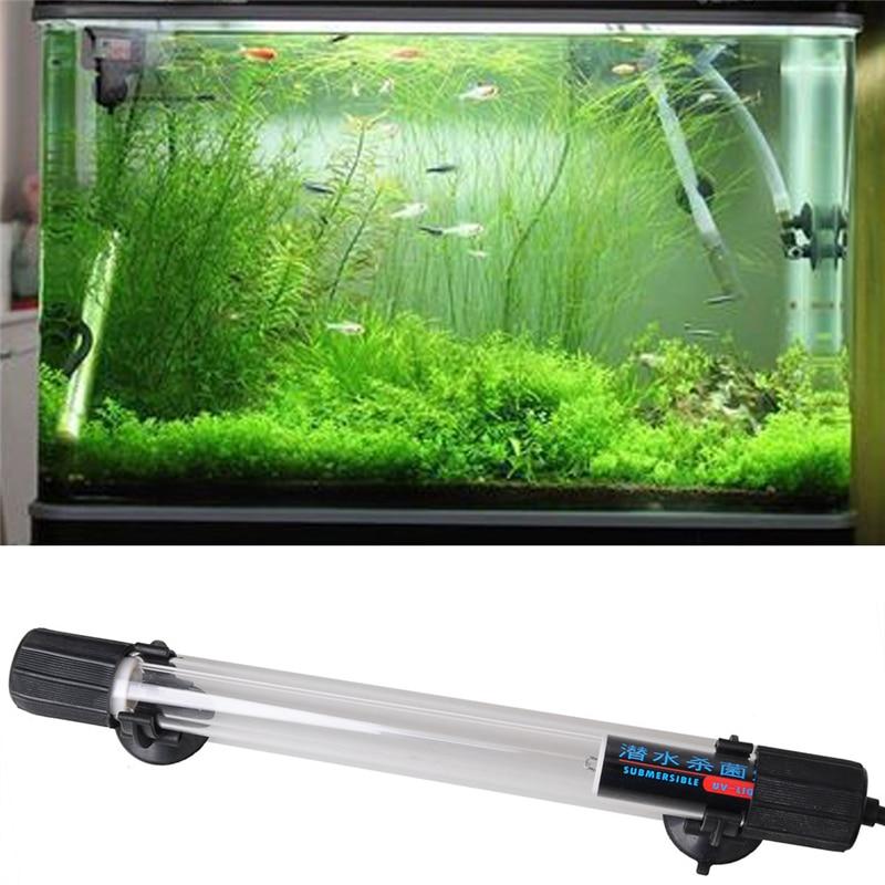 uv sterilizer light ip68 waterproof submersible aquarium uv light fish tank aquarium accessory. Black Bedroom Furniture Sets. Home Design Ideas