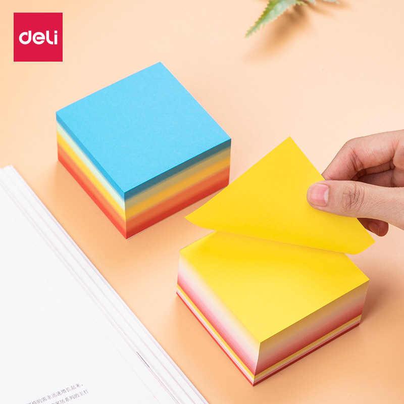 Kapasitas Besar Memo Pad 400 Halaman Warna-warni Dekoratif DIY Album Scrapbooking Sticky Notes Perencana Kertas Stiker Bookmark 21713