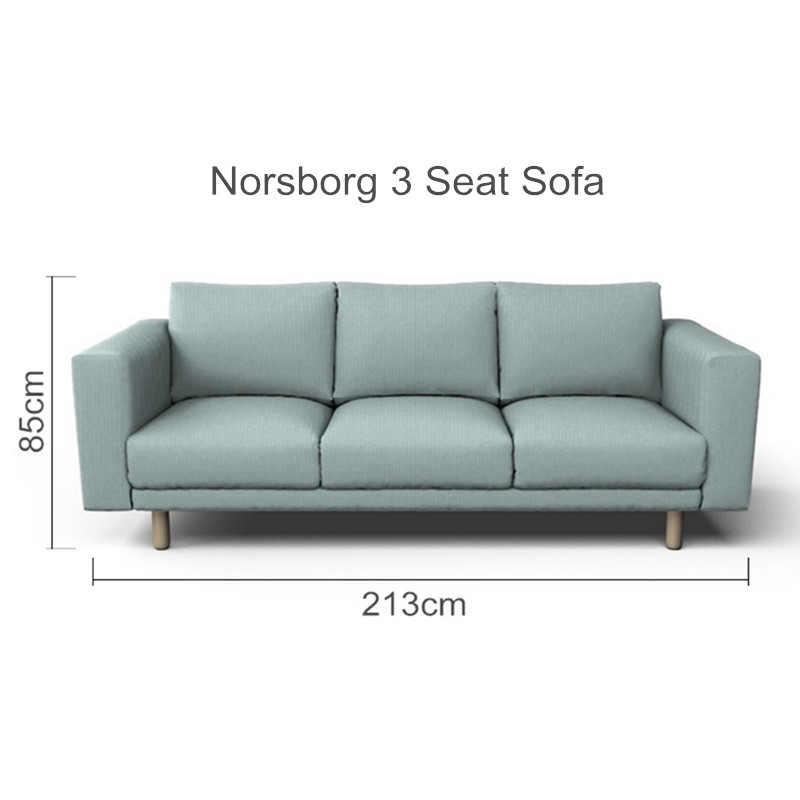 Astounding The Norsborg 3 Seat Sofa Cover Replacement For Norsborg 3 Machost Co Dining Chair Design Ideas Machostcouk