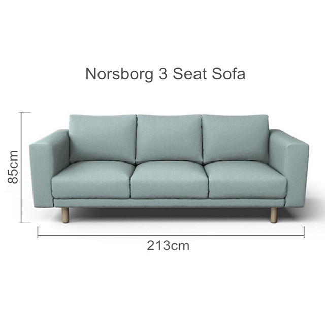 The Norsborg 3 Seat Sofa Cover Replacement For Norsborg 3 Seater ...