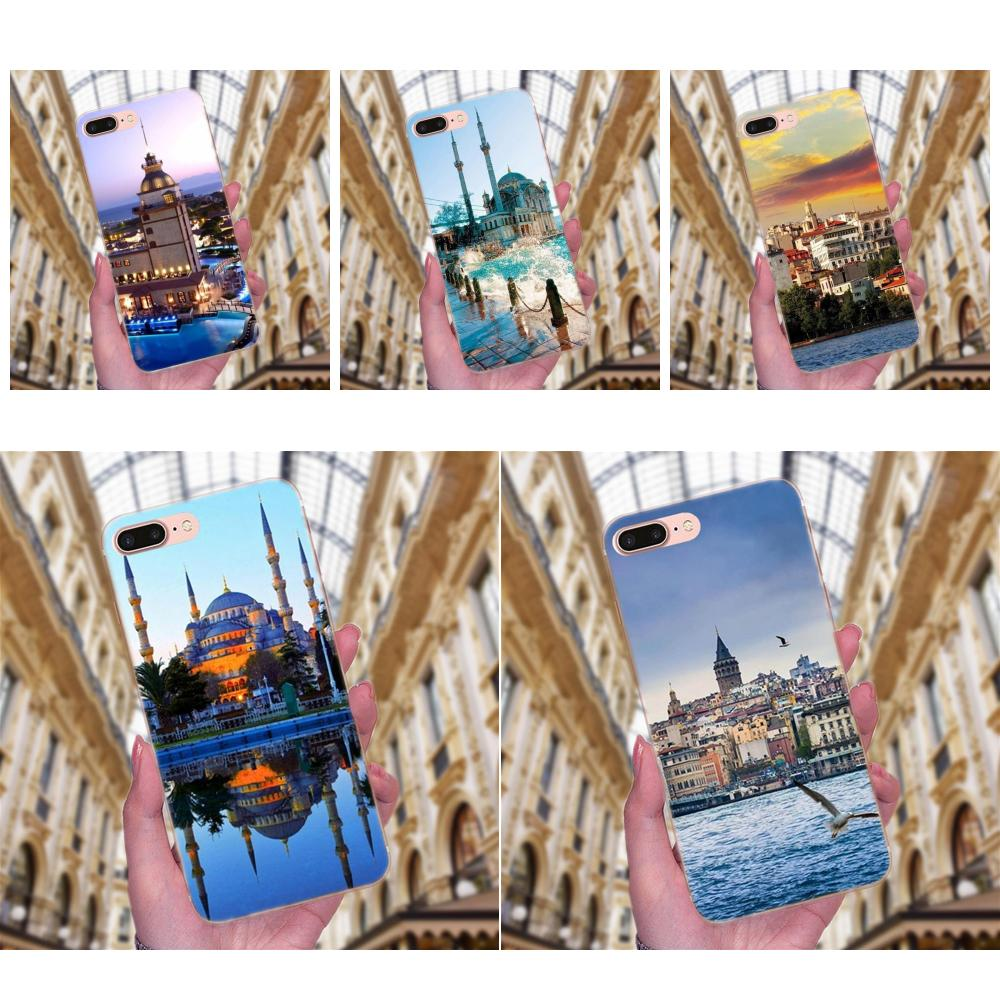 Transparent Cover Case Turkey Istanbul Sceneary Building For Xiaomi Redmi Note 2 3 3S 4 4A 4X 5 5A 6 6A Pro Plus image