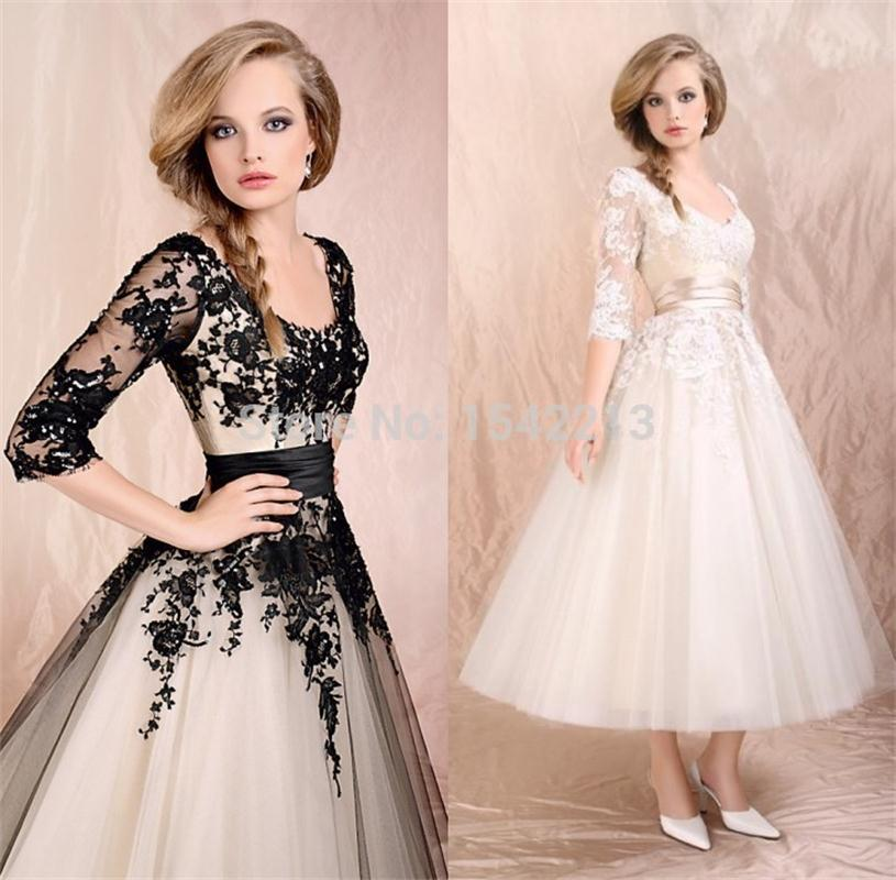 Compare Prices on Lace Vintage Prom Dresses Black- Online Shopping ...