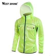 WEST BIKING Outdoor Sports Windproof TPU Cycling Bike Raincoat Men Road MTB Road Bike Running Jacket Waterproof Bicycle Jacket цена