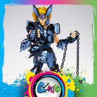 CMT IN Stock BANDAI Tamashii Saint Seiya Myth Cloth Kerberos Dante Action Figure Myth Metel Armor Toys Figure Crushed Box