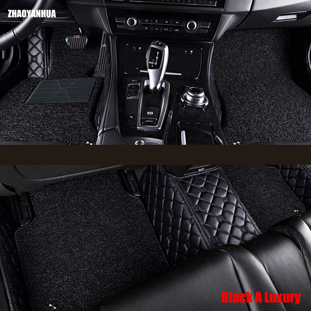 Zhaoyanhua car floor mats for chevrolet camaro all weather 5d car styling waterproof carpet liners 2010