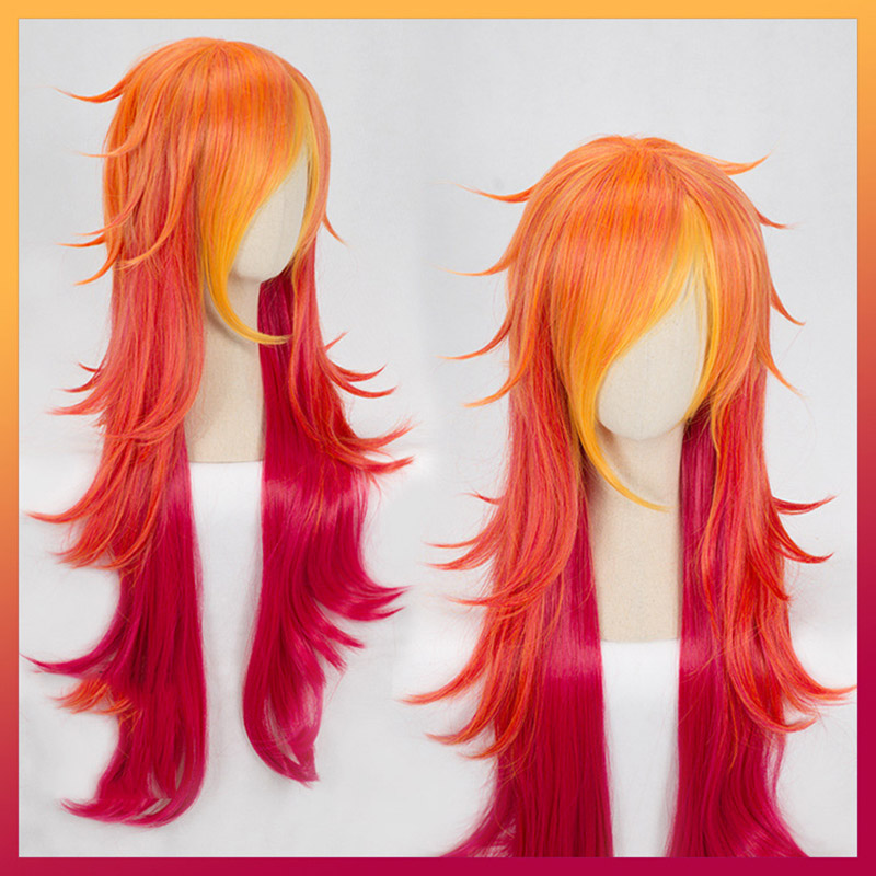 Image 5 - Game LOL Cosplay Wig Star Guardian Miss Fortune Ahri Ezreal Soraka Syndra Cosplay Wig Synthetic Hair Wig Halloween Party Wigs-in Costume Props from Novelty & Special Use