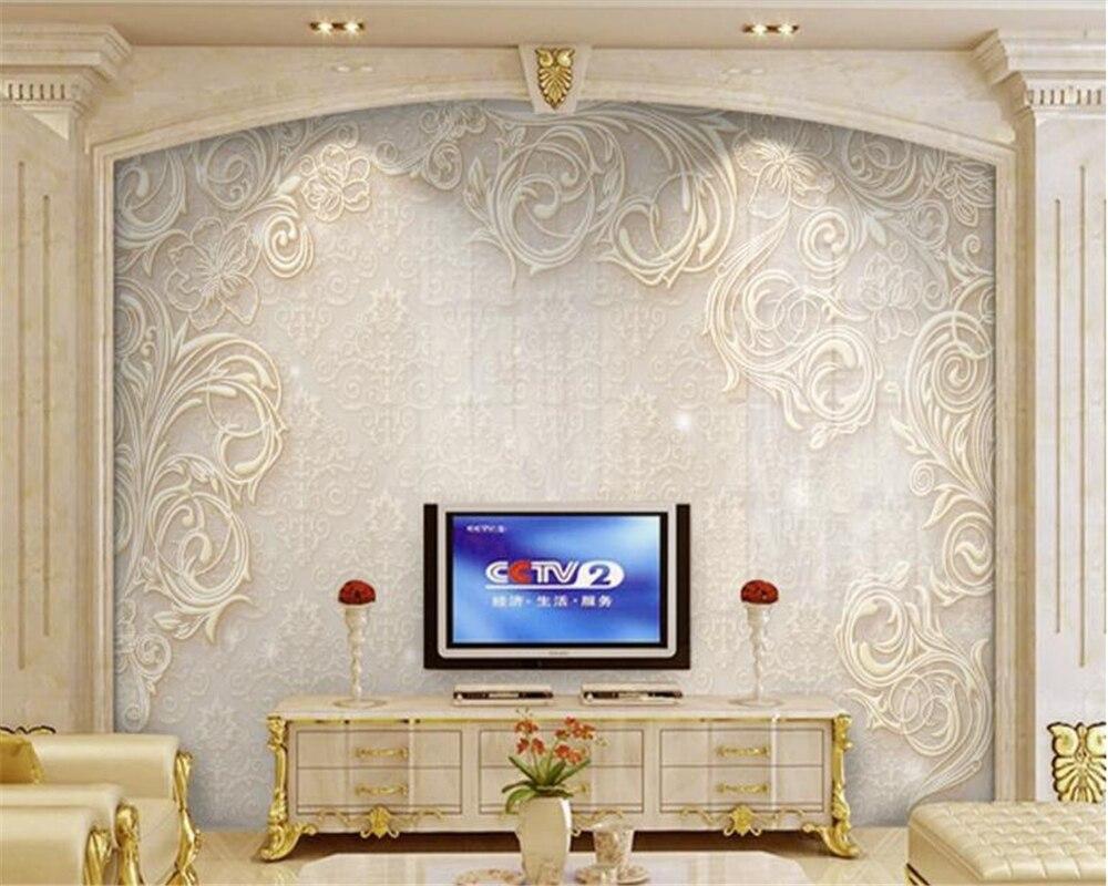 beibehang wallpaper Embossed pattern Starburst TV background papel de parede  hudas beauty tapiz