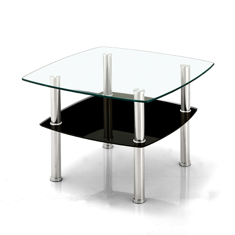 Office Of Small Square Coffee Table Simple And Stylish Sofa Side Glass A Few Corner Small In The