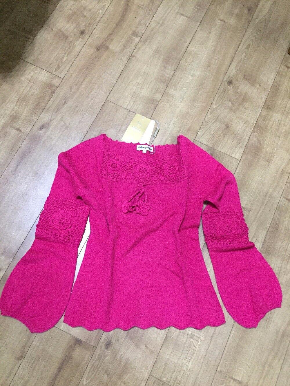 Chaud Rose Rouge Fille Femmes 100 Liquidation Qualité Livraison Pourpre Violet Doux En Cachemire fuchsia Naturel Pull Chandails Gratuite Haute 4q8Xx8P0