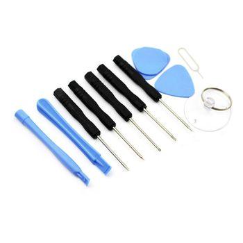 Новый 11 в 1 Набор инструментов для разборки для iPhone 4 4S 5 5S 6 6s Набор инструментов для ремонта смартфона набор отверток