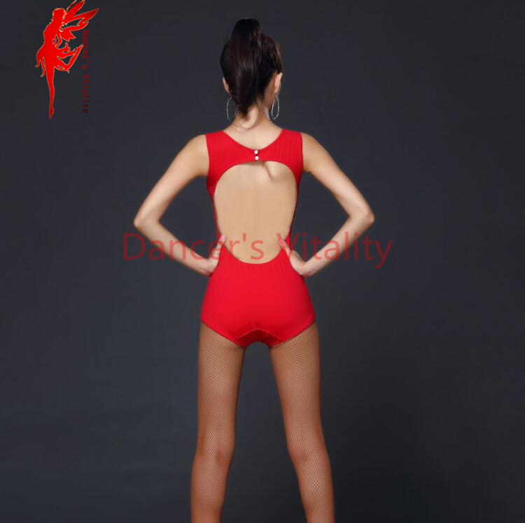 f6770ab37d Latin Women Leotard Bodysuit Tango Samba tops Salsa Ballroom Dance Dresses  Long Sleeve Spandex Full Body Leotard coat A158-in Latin from Novelty    Special ...