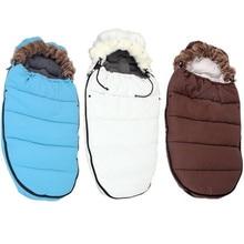 Winter baby sleeping bag for stroller thicken cotton envelope sleep bag high quality boy girls sleepsacks цена