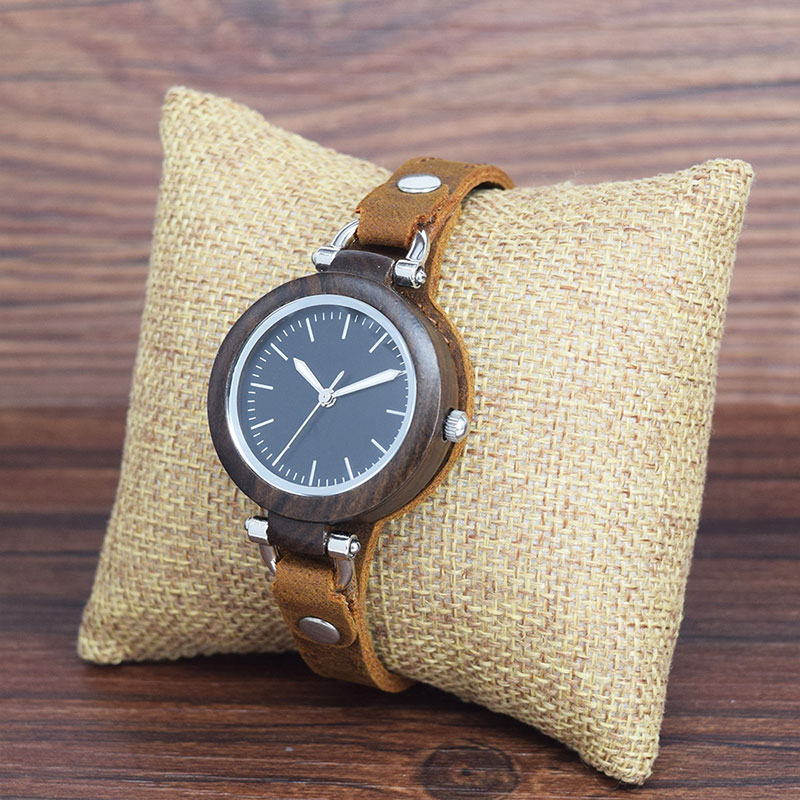 sihaixin-women-Unique Handmade leather-wood-watches-B88-8