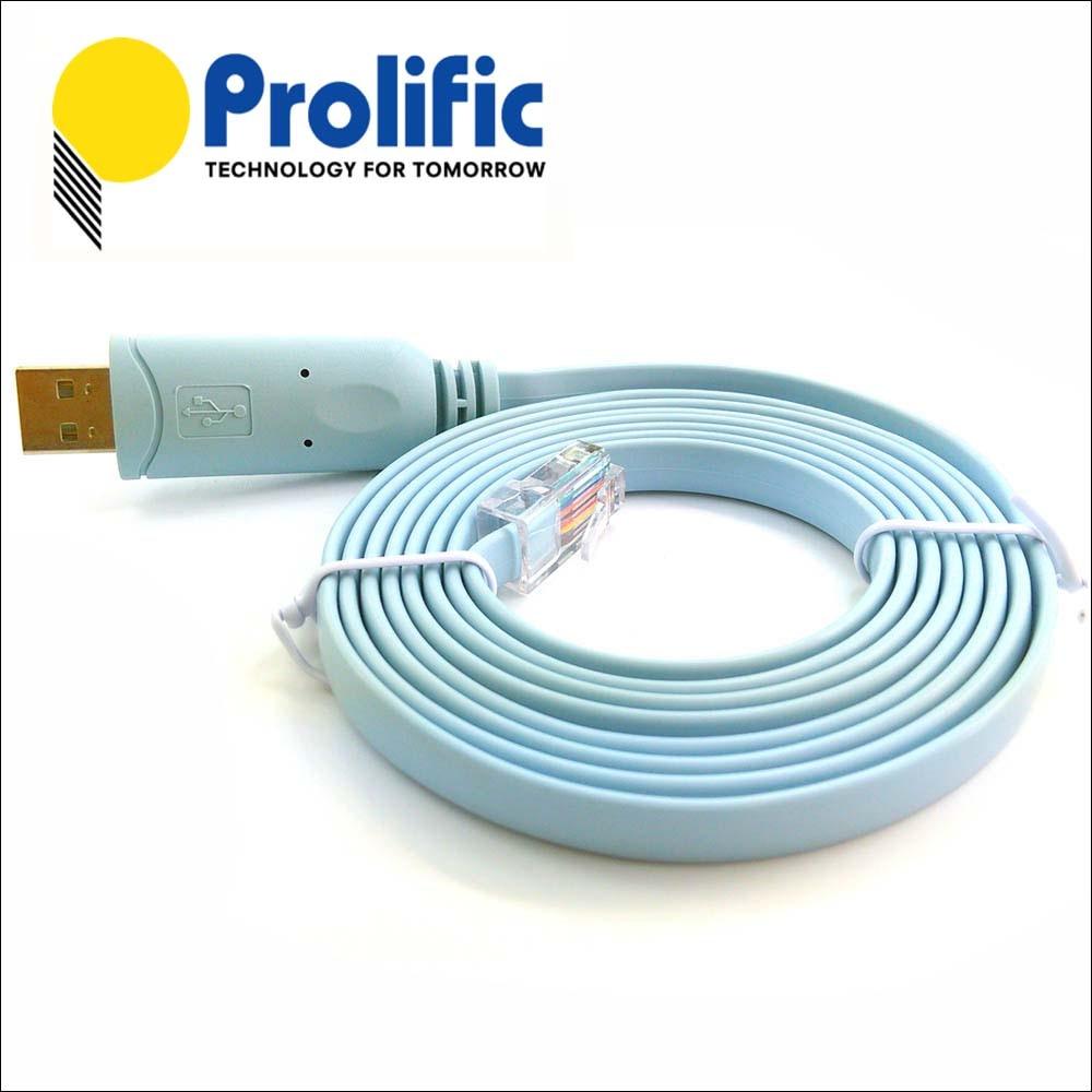 Pl2323ra prolífico serial rs232 para rj45 rollover cabo para ...