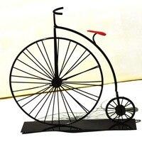 Moda W Stylu Vintage Kolekcja Pub Sklep Dekoracji Ręcznie Rzemiosła Metali Retro Żelaza Model Rowerów Rocznika Rower Dla dziecka Najlepszy Prezent