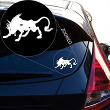 Yoonek Graphics Final Fantasy 7 Nanaki Decal Sticker for Car Window, Laptop and More. # 824 (3 x 5.4, White)