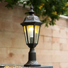 HAWBOIRRY modern community villa home outdoor garden lamp post European retro balcony corridor column