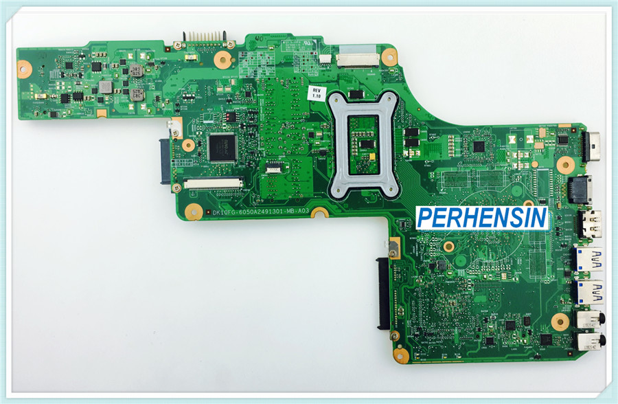 V000275300 FOR Toshiba FOR Satellite c850 c855 L850 L855 HM70 Motherboard 100% WORK PERFECTLY kefu h000052730 main board fit for toshiba satellite c850 c855 l850 l855 laptop motherboard hm70 ddr3 free cpu