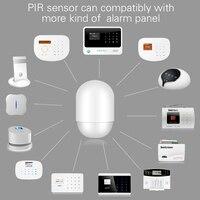 P829 Bezprzewodowy Inteligentny Czujnik PIR Motion Detector Dla Inteligentnego Domu Alarm Security System