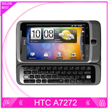 HTC Desire Z Original Phone 3.7'' Touch 3G Wifi Bluetooth GPS Unlocked Phone 5MP Camera A7272 Cell Phone Free Shipping