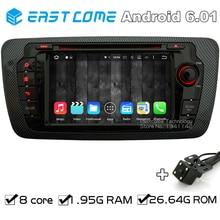 Octa Ядро 8 Android 6.01 автомобиль DVD для сиденья IBIZA 2009 2010 2011 2012 2013 2014 с Bluetooth Радио заднего вида Камера