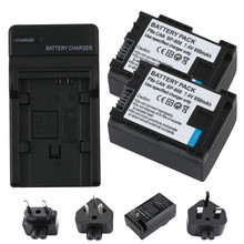 2Pcs BP-808 BP 808 BP808 Battery for Canon BP-809 819 827 HF200 HF20 HG21 HG20 FS200 FS21 FS22 HFS30 HFM41 HFM400 FS300 FS100
