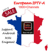 1 Year European IPTV subscription 1800+Sweden Arabic French Belgium Italy Germany UK CA tv channels for Android Box /M3U/Enigma2(China)