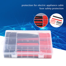 270pcs PE Shrinking Assorted Heat Shrink Tubing Wrap Cable Insulated Sleeve Shrinkable Tube Wire DIY