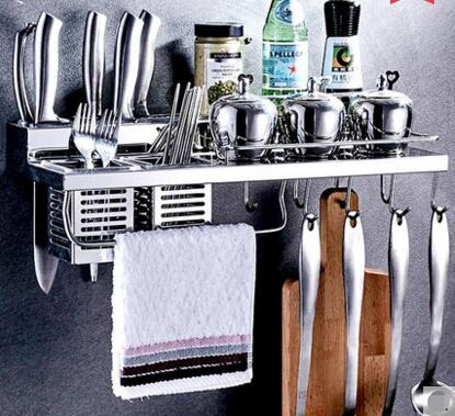 High-end three-storey 304 stainless steel bowl rack Lek racks Kitchen plate racks to put the dishes out of the drain021 steel d until the end of time