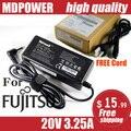 Mdpower для Fujitsu 20 В 3.25A зарядное устройство блок