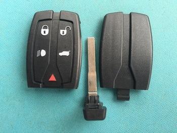 1 шт. новый запасной ключ пустой для LAND ROVER FREELANDER 2 5 кнопочный дистанционный смарт-Брелок чехол без логотипа