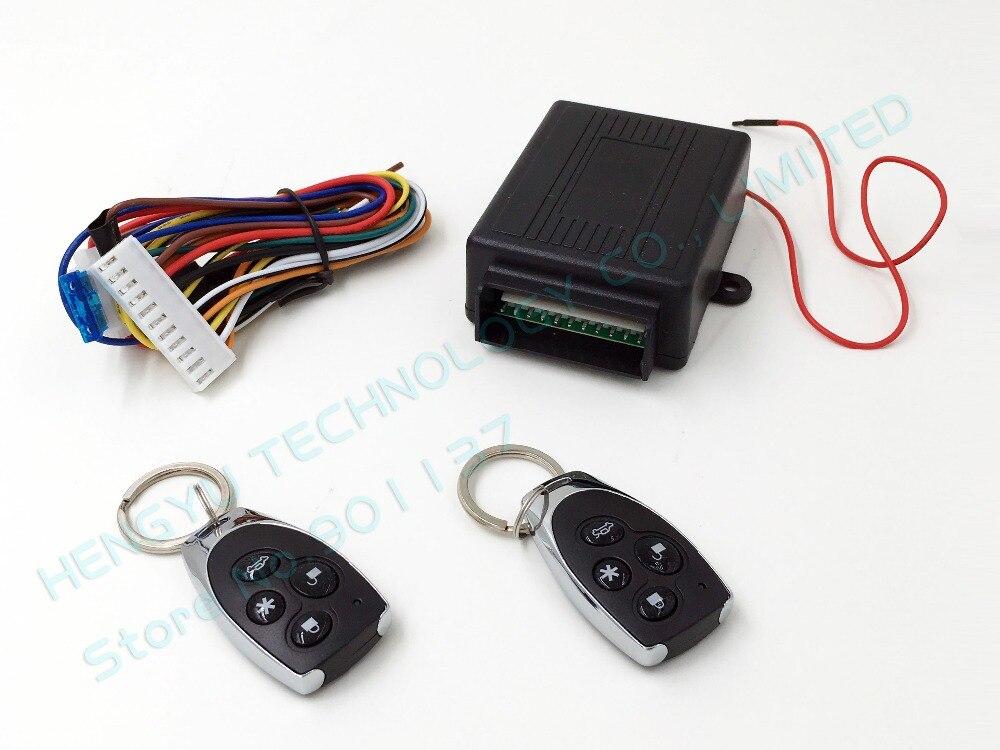 imágenes para Lanzamiento del tronco de coche universal auto a distancia cierre centralizado de bloqueo sin llave con los reguladores alejados envío libre EQUIPADA KL-2