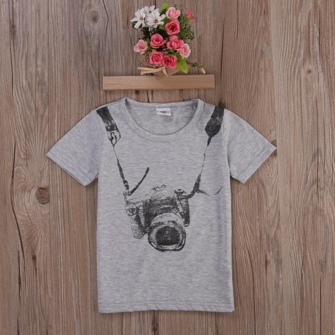 Fashion 1pcs Baby Boys T-Shirts Tops Sets Boy