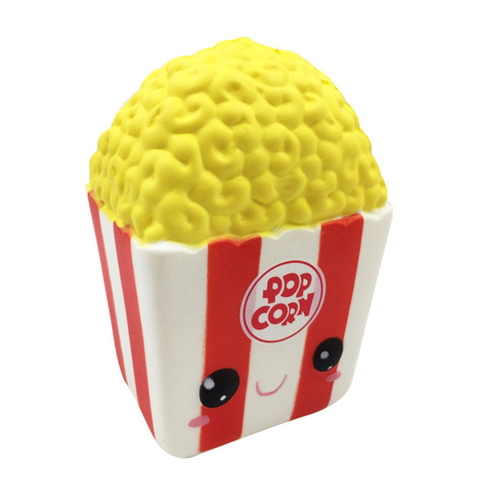 Toys & Hobbies Relax Toys 12cm Silly Cartoon Popcorn Charm Slow Rising Squeeze Pressure Stress Reliever Toys Squishies Soft Scented D301228 Diversified In Packaging Squeeze Toys