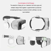 VR Helmet Glasses Headset Stereo Box for 4.7-6.2′ Mobile Phone