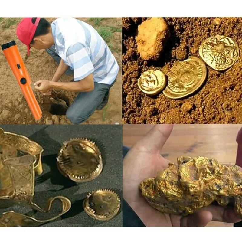 Fémdetektor föld alatti aranyszkenner Csipeszes mutató gp kincs - Mérőműszerek - Fénykép 6