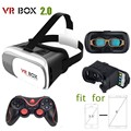 Google Cardboard 3D Movie Glasses VR BOX II 2.0 Version Virtual Reality 3D Galasses+Bluetooth Remote Controller