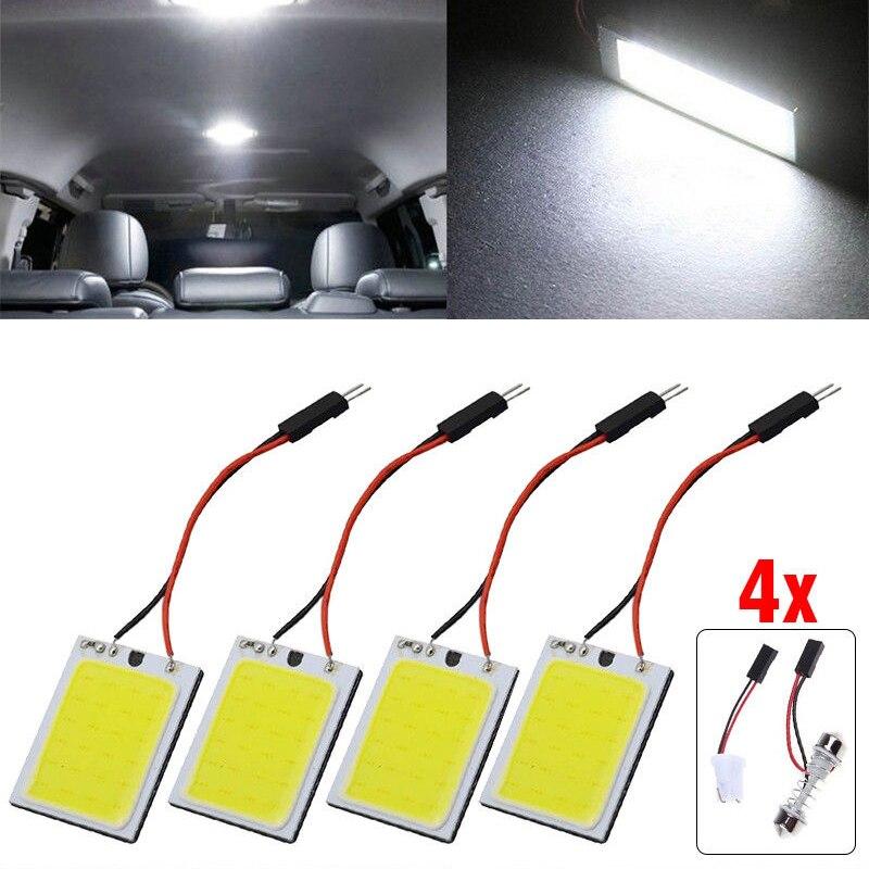 12V  24 SMD LED White LED Dome Map Light Bulbs Car Interior Panel Lamps