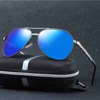 2017 New Fashion High Quality PolarizPilot Sunglass Female Eyewear New Polarized Aviator Sunglasses Women Oculos Gold