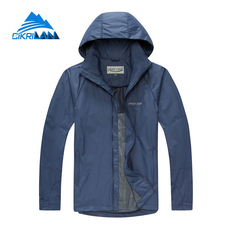 Spring Waterproof Outdoor Jacket Men Climbing Fishing Clothing Anti-uv Lightweight Sunscreen Veste Homme Hiking Camping Coat