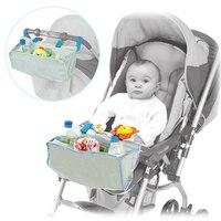 Bebek Arabası Organizatörler Çanta Bebek Arabası Pram Cepler Anne Yardımcısı Bebek Sepeti Ön Çantası Oyuncaklar Şişeleri Depolama Sepeti 70Z2031