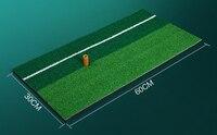 30x60 cm pequeño tamaño doble color Golf entrenamiento chipping caucho conducción práctica estera poner línea mini Golf ejercicio estera
