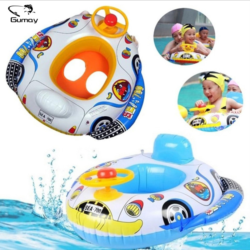 2017 Funny Shape Inflatable Pool float Baby Swimming Ring Baby Float Seat For Pool Floats For Swimming Pool Baby Swimming New dual slide portable baby swimming pool pvc inflatable pool babies child eco friendly piscina transparent infant swimming pools