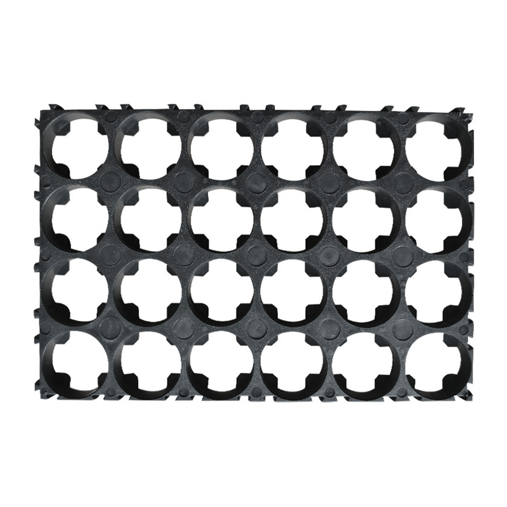 5/10 Pcs 4x6 Cell Spacer 18650 Li-ion Battery Holder Bracket Plastic Radiating Shell Rack Cylindrical Batteries Fixture MAL999