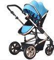 Baby stroller Baby cart high landscape can sit lying in winter folding baby hand push children