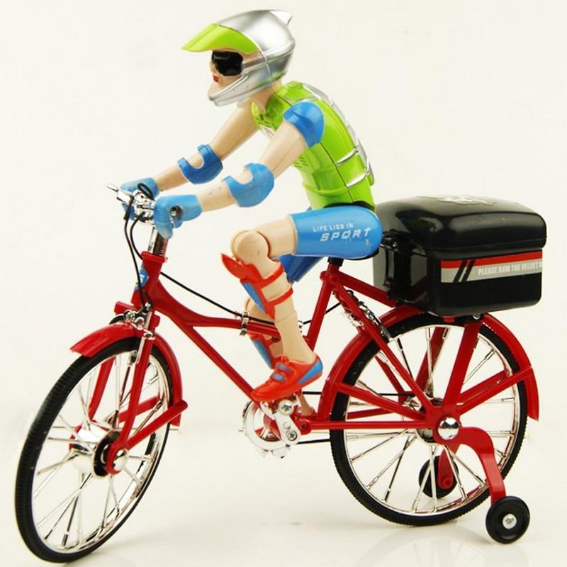 Hot Flashing Finger Bike Toys Plasticbaby Toy Bike Led Mini Bike